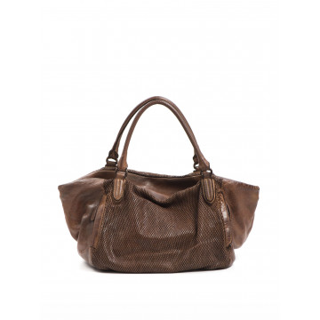 handbags woman reptiles house h 290 bee mogano 1122