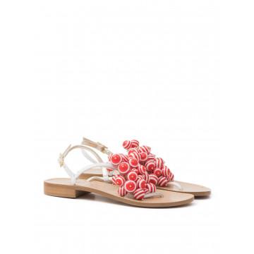 sandals woman sofia m nicoletta 6027 sole t10 biarosso 1128