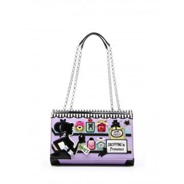 handbags woman braccialini b11252 yy818 cartoline 667