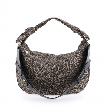 shoulder bags woman borbonese 933377i15x11 9012