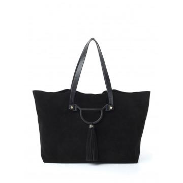 handbags woman borbonese 954737 j25 100 nero 1209