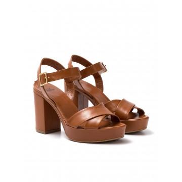 sandals woman silvia rossini 1513 5053 capri cuoio 1164