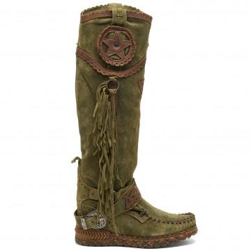 stiefel  boots damen el vaquero syria silverstone pine 8947
