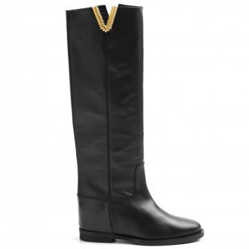 stiefel  boots damen via roma 15 3610 santa monica nero 8954