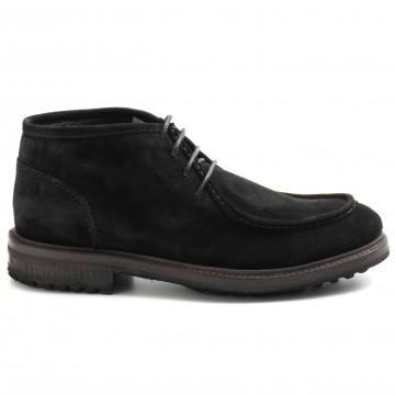 lace up ankle boots man j wilton 1172nero 9102