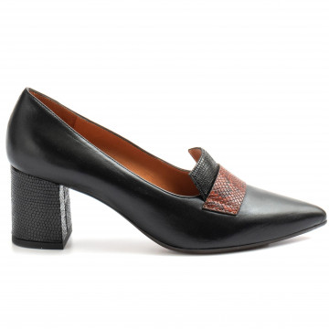 loafers woman chie mihara quatiafreya negro 9135