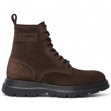 lace up ankle boots man fabi fu0313181 ebano 9145