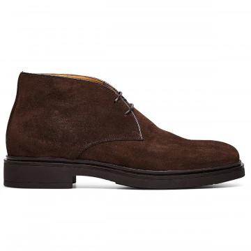 lace up ankle boots man fabi fu0358181 ebano 8967
