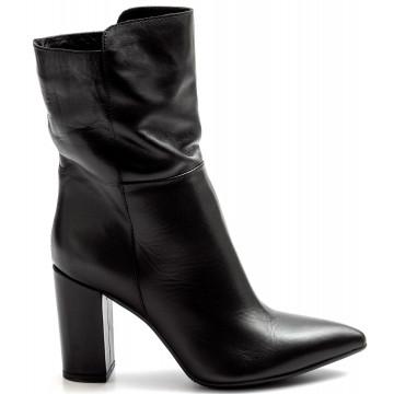 booties woman balie 2300vitello nero 9241