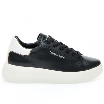 sneakers damen crime london 24600black 9149