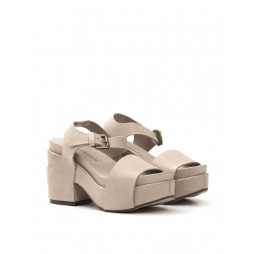 sandals woman criteria 3025 paula rom acero 1225