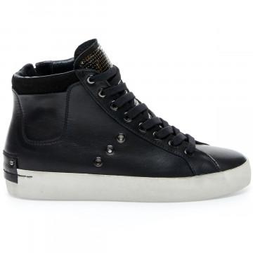 sneakers damen crime london 24232black 9254
