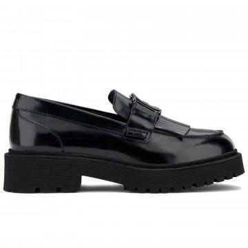 loafers woman hogan hxw5430dh721qa9999 9126