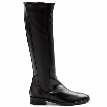 boots woman lorenzo masiero ml012nero 9274
