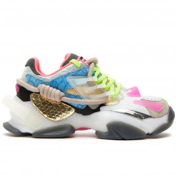 sneakers damen cljd 6f0370102 white gold skyblu 8961