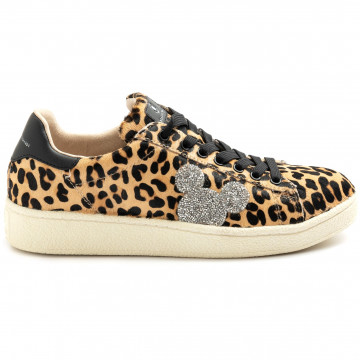 sneakers damen moa master of arts mc459leopard glitter 9203