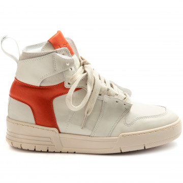 sneakers damen lemare 3013bianco zucca 9214
