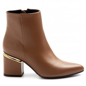 booties woman silvia rossini sr133nappa brandy 9291