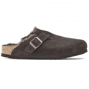 sandalen damen birkenstock boston shearling1020529 9304