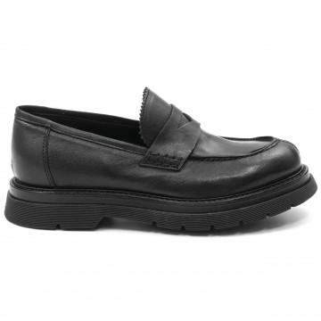 loafers woman vicolo8 vd522lavato nero 9310
