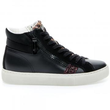 sneakers damen crime london 24462black 9253