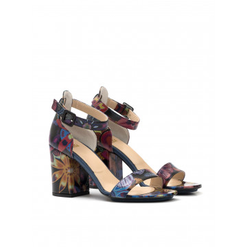 sandals woman milla gabby fiore multi nero 932