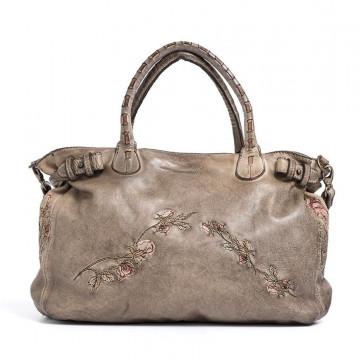handbags woman reptiles house h 397rose dark corda 2087