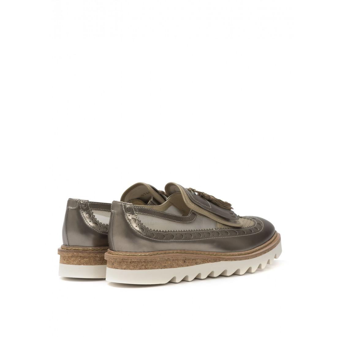 loafers woman barracuda bd0740 metal brw 1297