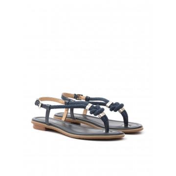 sandals woman michael kors 40t5hofa2l holly sandal admiral 1642