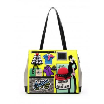 handbags woman braccialini b11255 yy818 cartoline 1409