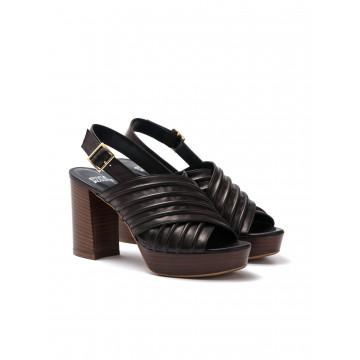 sandals woman silvia rossini 1837c 5053 soft nero 1364