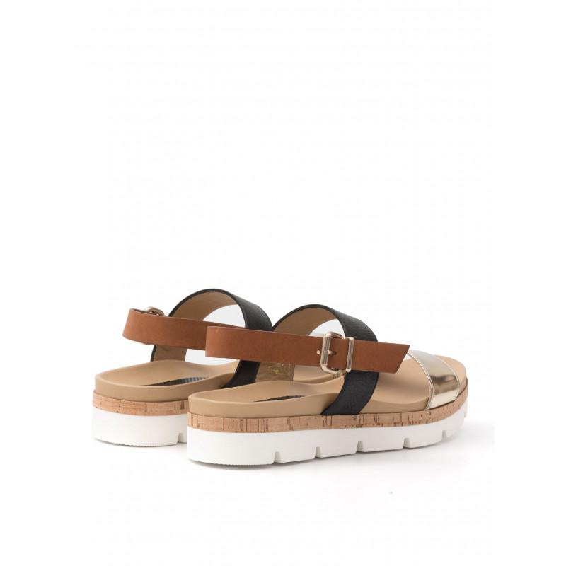 sandals woman sax 22001 bima specchio platino 477