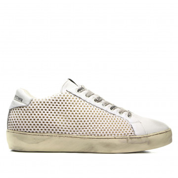 sneakers man leather crown m iconic002 2382