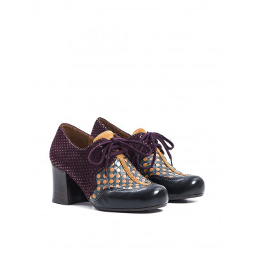 lace up woman chie mihara intuittequila negro xuva grape 1383
