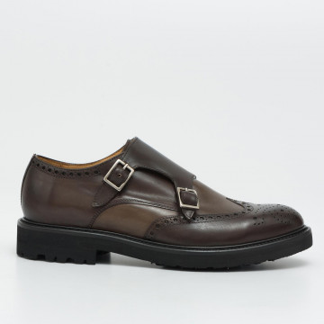 monk straps man brecos 718714444 vitello cioccolato 2328