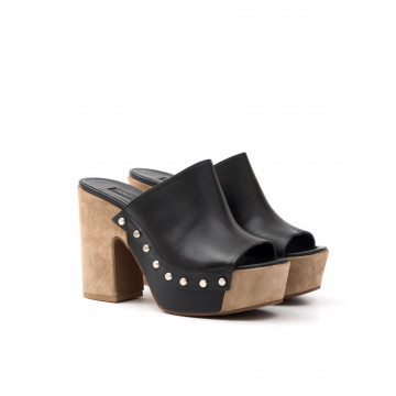 sandals woman janet  janet 39451 bamako nero 519