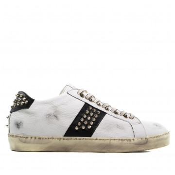 sneakers man leather crown m iconic016 2383
