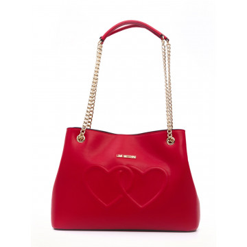 handbags woman love moschino jc 4290 kl0500 lamb rosso 1620