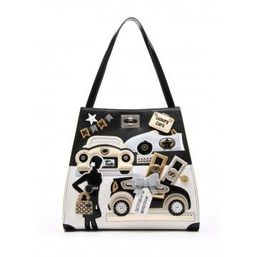 handbags woman braccialini b11257 yy818 cartoline 867