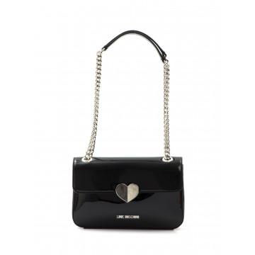 handbags woman love moschino jc 4249 kf0000 patent nero 1628