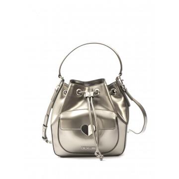 handbags woman love moschino jc 4250 kf0902 patent argento 1630