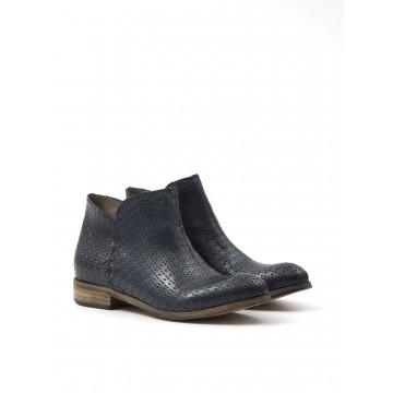 booties woman cavallini 5542 022 algers forato blu 1131