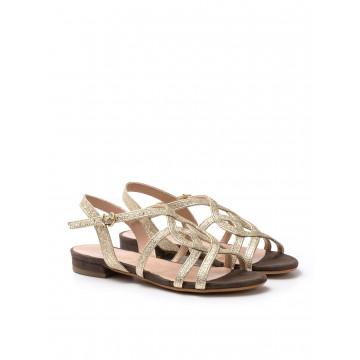sandals woman sangiorgio 728 346 lamcaram platino 612