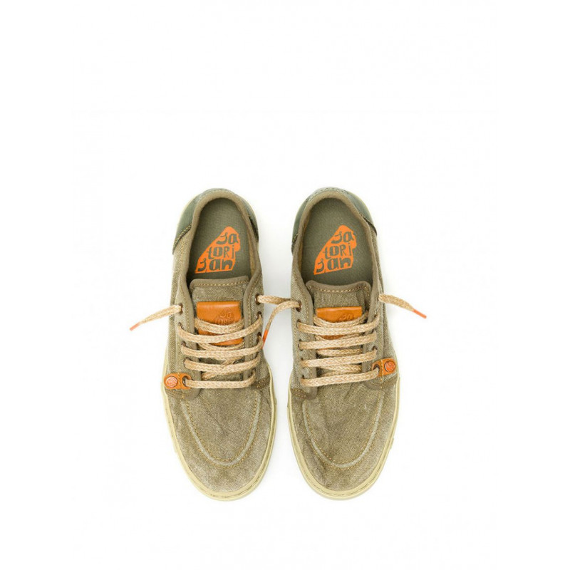 sneakers man satorisan sukkiri p61 linen earth 465
