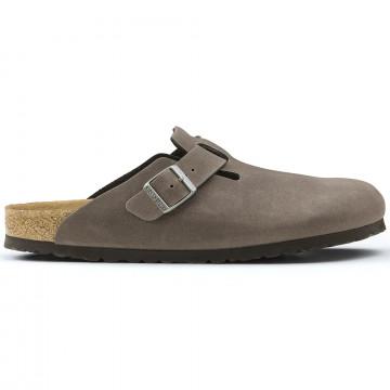 slippers man birkenstock boston 259543 anthracite 2263