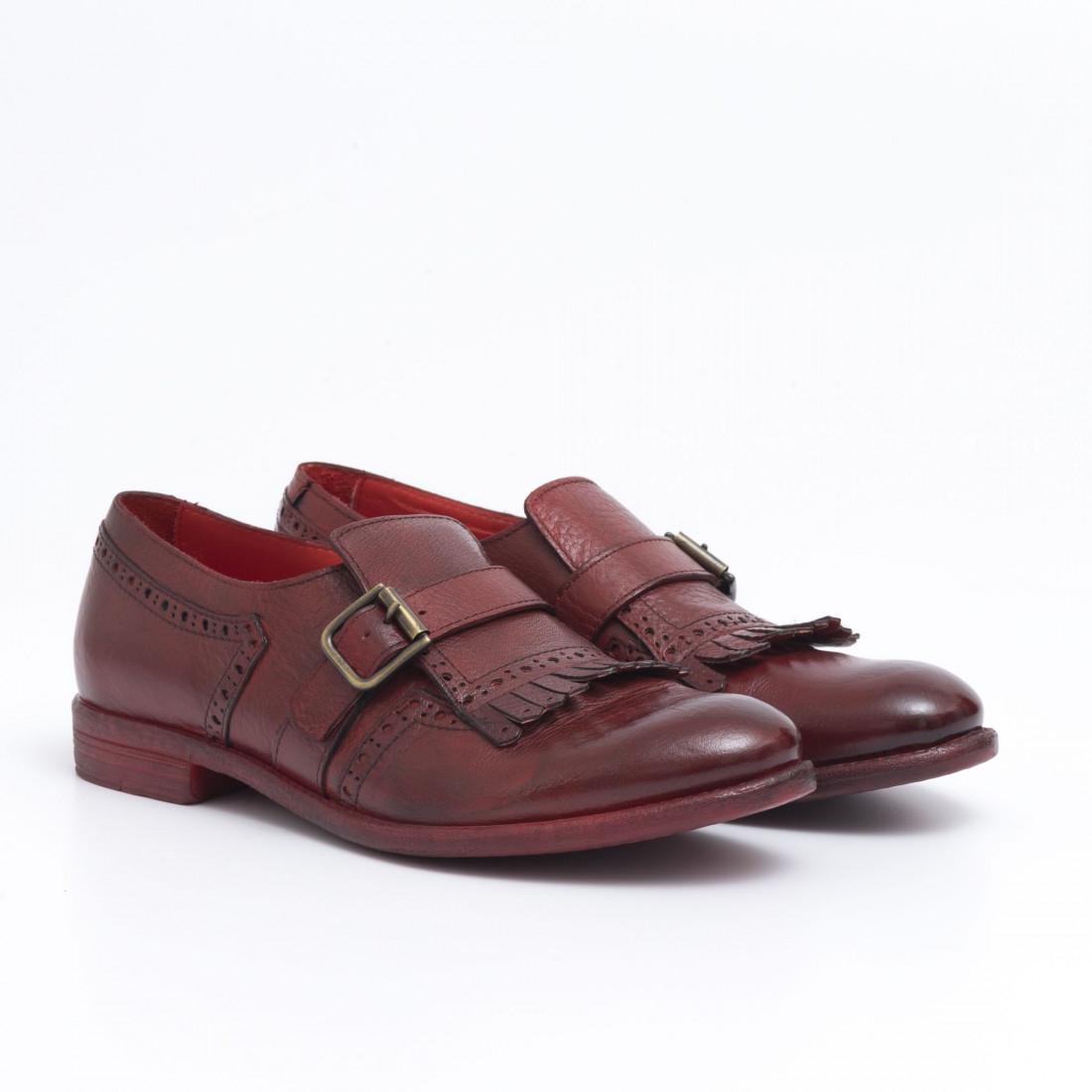 slip on woman hundred w246 08 bufalo rosso 485