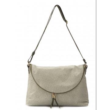 crossbody bags woman borbonese 934866 296 e49 military green 1467