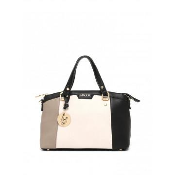 handbags woman liu jo n66145e0003a3163 tortchampblk 951