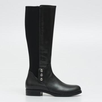 boots woman laura bellariva 9013 448calf nero neopr nero 2311