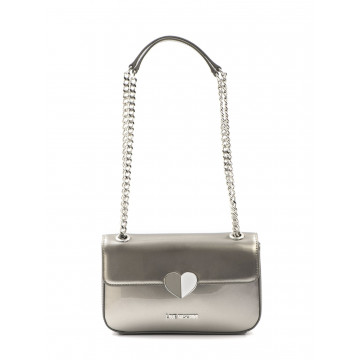handbags woman love moschino jc 4249 kf0902 patent argento 1634